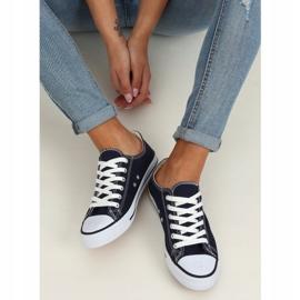 Women's classic navy blue sneakers XL03 D.BLUE 2