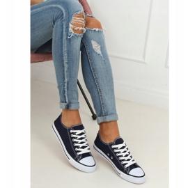 Women's classic navy blue sneakers XL03 D.BLUE 3