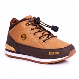 Children's Boots Big Star Camel GG374102 brown multicolored 4
