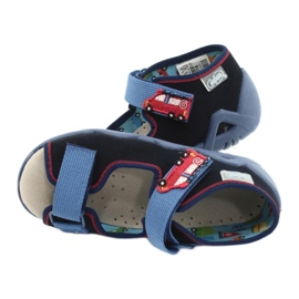 Befado yellow children's shoes 350P014 red navy blue 5
