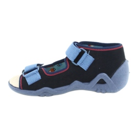 Befado yellow children's shoes 350P014 red navy blue 2
