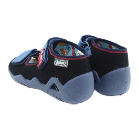 Befado yellow children's shoes 350P014 red navy blue 6