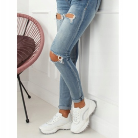 White LA87P White sports shoes 5
