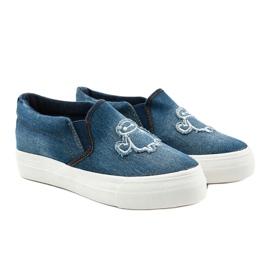 Cherilena sneakers jeans navy blue blue 3