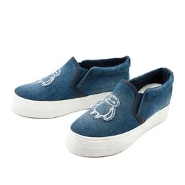 Cherilena sneakers jeans navy blue blue 2