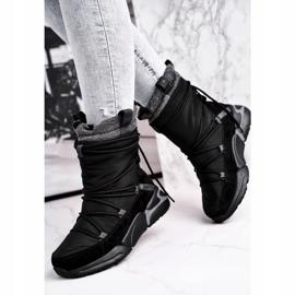 Women's snow boots Big Star Black GG274628 3