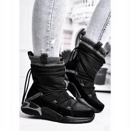 Women's snow boots Big Star Black GG274628 1