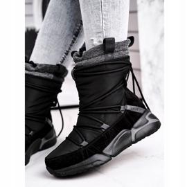 Women's snow boots Big Star Black GG274628 2