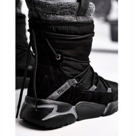 Women's snow boots Big Star Black GG274628 4