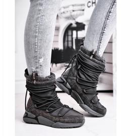 Women's snow boots Big Star Gray GG274629 grey 1
