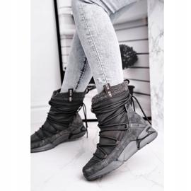 Women's snow boots Big Star Gray GG274629 grey 2