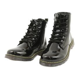 Black patent leather boots Evento 20DZ23-3216 Marita 4