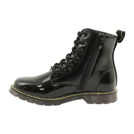 Black patent leather boots Evento 20DZ23-3216 Marita 3