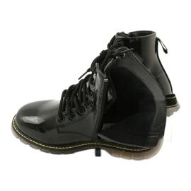 Black patent leather boots Evento 20DZ23-3216 Marita 6