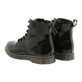 Black patent leather boots Evento 20DZ23-3216 Marita 7