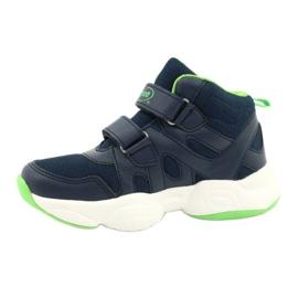 Befado children's shoes 516X049 navy blue green 1