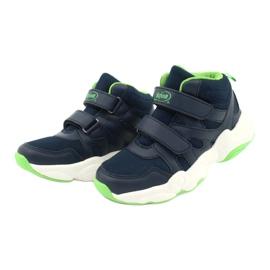 Befado children's shoes 516X049 navy blue green 2