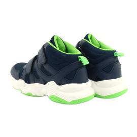 Befado children's shoes 516X049 navy blue green 4