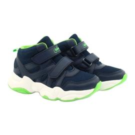 Befado children's shoes 516X049 navy blue green 5