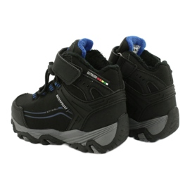 Softshell boots with American Club membrane black blue 4