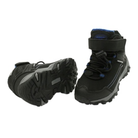 Softshell boots with American Club membrane black blue 3