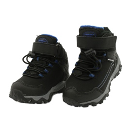 Softshell boots with American Club membrane black blue 2