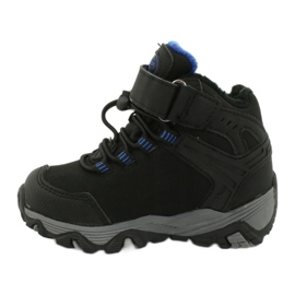 Softshell boots with American Club membrane black blue 1