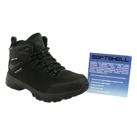 American Club American trekking Softshell boots with a membrane black 5