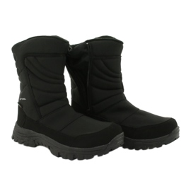 American Club Boots with a membrane insulated with fleece black 4