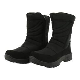 American Club Boots with a membrane insulated with fleece black 2