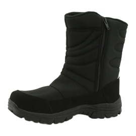 American Club Boots with a membrane insulated with fleece black 1