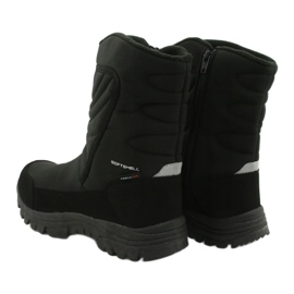 American Club Boots with a membrane insulated with fleece black 3