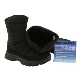 American Club Boots with a membrane insulated with fleece black 5