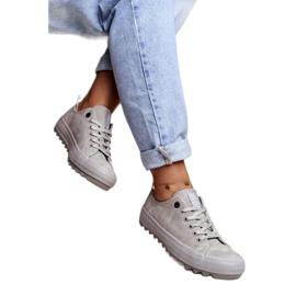Women's Sneakers Big Star Gray GG274075 grey 1