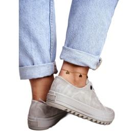 Women's Sneakers Big Star Gray GG274075 grey 2