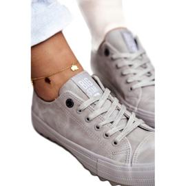 Women's Sneakers Big Star Gray GG274075 grey 3