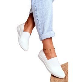 LU BOO Sneakers Slip On Slip-on Sneakers White Justy 2