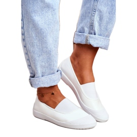 LU BOO Sneakers Slip On Slip-on Sneakers White Justy 1