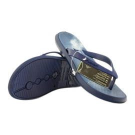 Navy blue flip flops children shoes flip-flops Rider 1307 3