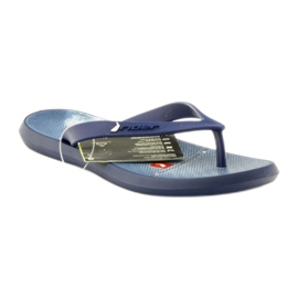 Navy blue flip flops children shoes flip-flops Rider 1307 1