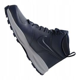 Nike Manoa Ltr Jr BQ5372-400 shoes black navy blue 5