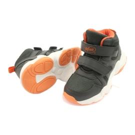 Befado children's shoes 516X050 orange grey 4
