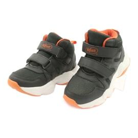 Befado children's shoes 516X050 orange grey 3