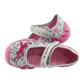 Befado children's shoes 109P204 pink silver grey 5