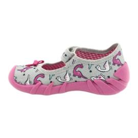 Befado children's shoes 109P204 pink silver grey 2