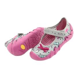 Befado children's shoes 109P204 pink silver grey 4