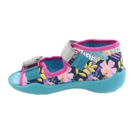 Befado children's shoes 242P098 blue pink silver 2