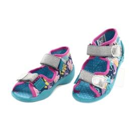 Befado children's shoes 242P098 blue pink silver 3