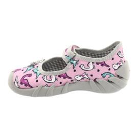 Befado children's shoes 109P205 pink silver grey 2