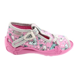 Befado children's shoes 213P120 pink silver grey 2